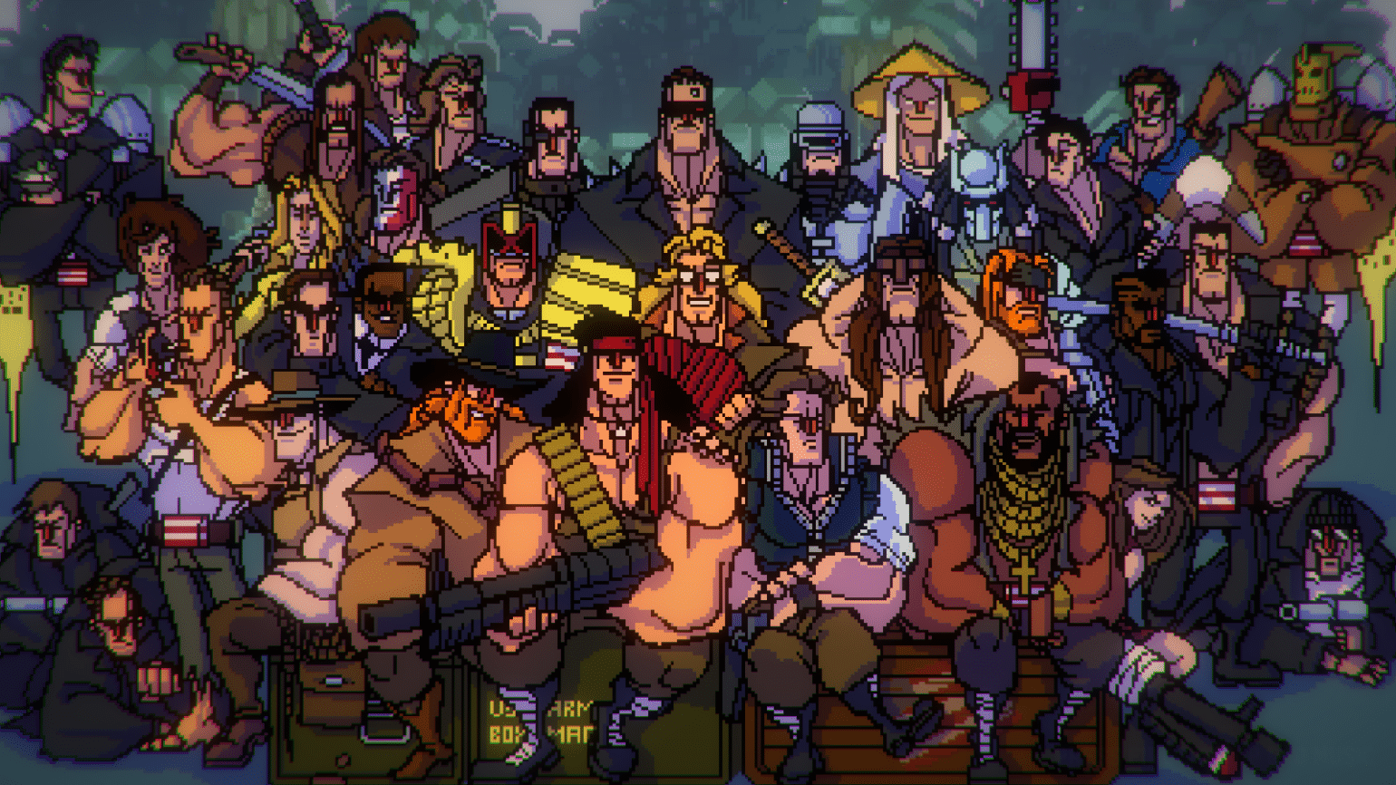 Broforce team