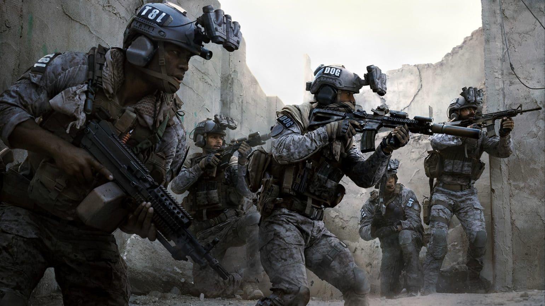 call of duty: modern warfare escouade