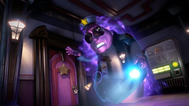 Luigi's Mansion 3 - Flic Fantôme