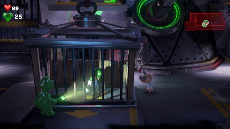 Luigi's Mansion 3 Gluigi