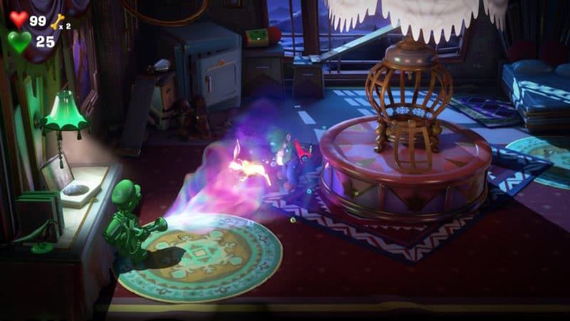 Luigi's Mansion 3 - Pris comme un lapin