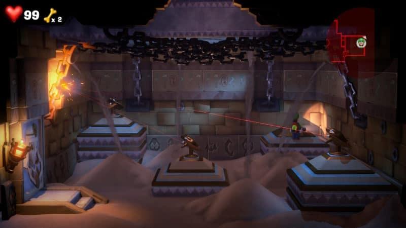 Luigi's Mansion 3 - Puzzle timé