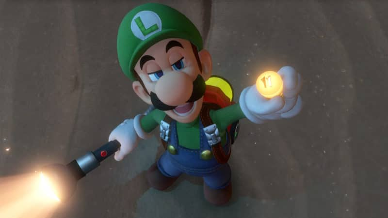 Luigi's Mansion 3 - Regard de winner