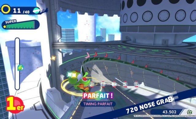 Mario & Sonic aux Jeux Olympiques de Tokyo 2020 - Oeil du tigre