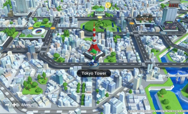 Mario & Sonic aux Jeux Olympiques de Tokyo 2020 - Tokyo Tower