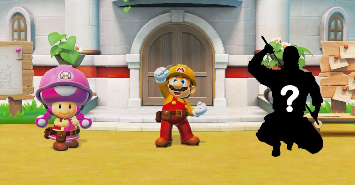 Super Mario Maker 2 The Messenger