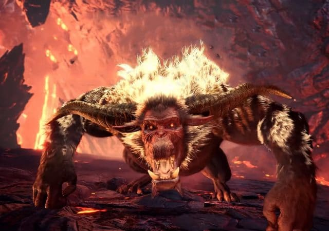Monster Hunter World Iceborne - Rajang