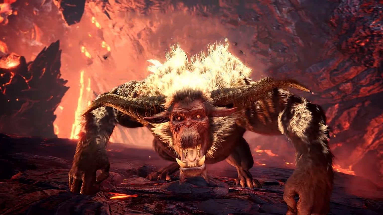 Monster Hunter World Iceborne - Rajang