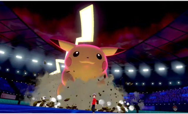 Pokémon Épée et Bouclier - Pikachu gigamaxé