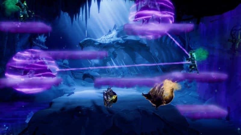 Trine 4: The Nightmare Prince Pontius combat