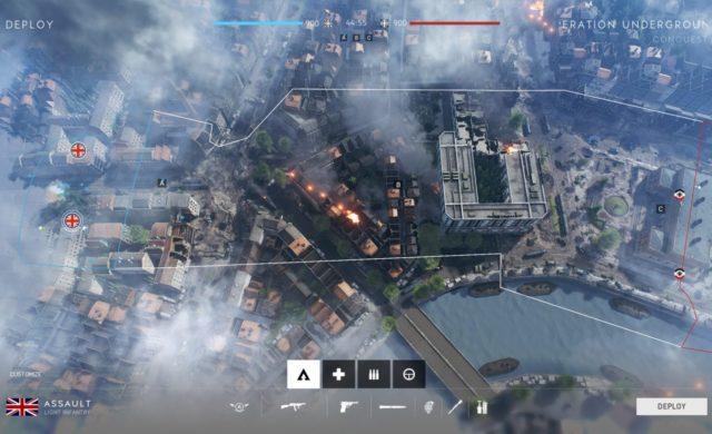 Battlefield V map opération underground