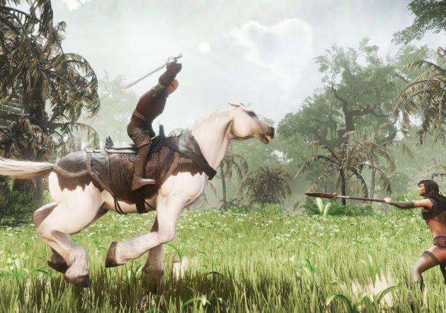 Conan Exile cheval
