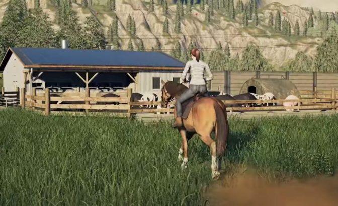Farming Simulator 19: Platinium Edition cheval