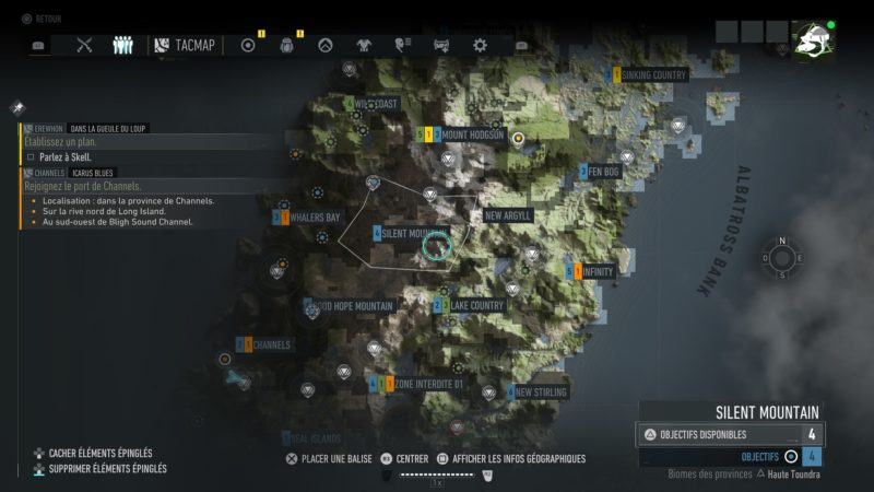 Ghost Recon: Breakpoint map