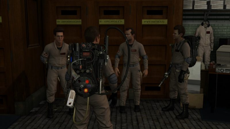 Ghostbusters: The Video Game Remastered team