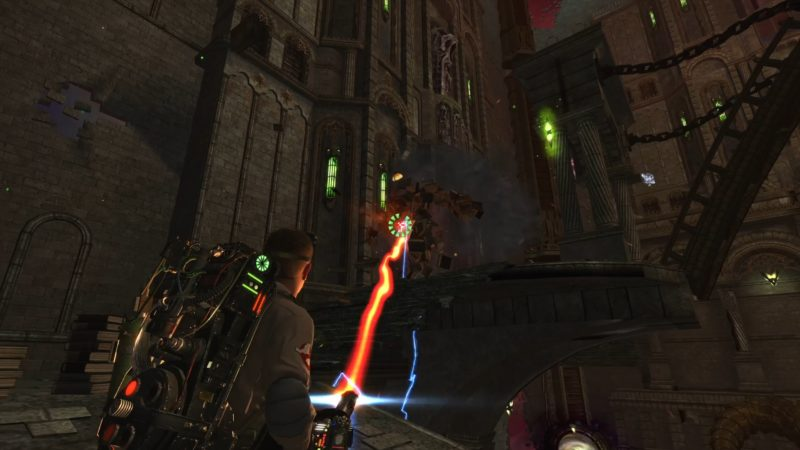 Ghostbusters: The Video Game Remastered combat