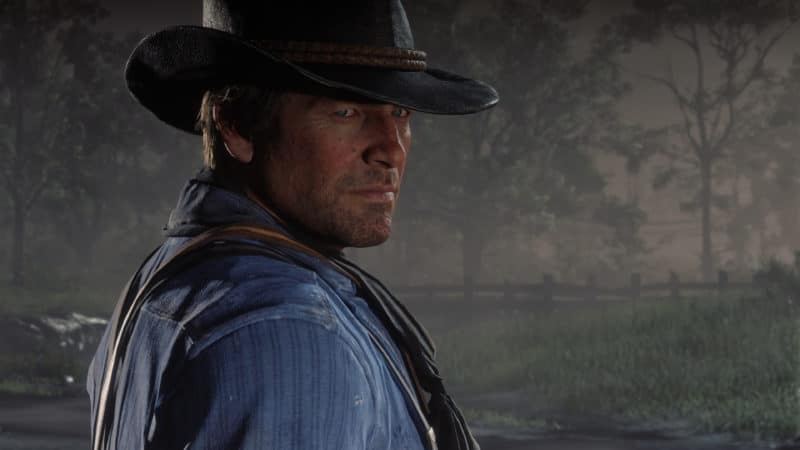red dead redemtpion 2 arthur portrait pc