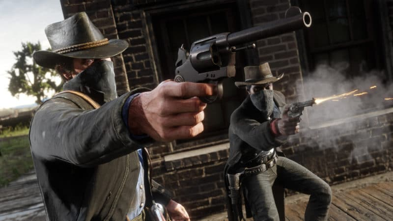 red dead redemtpion 2 fusillade pc