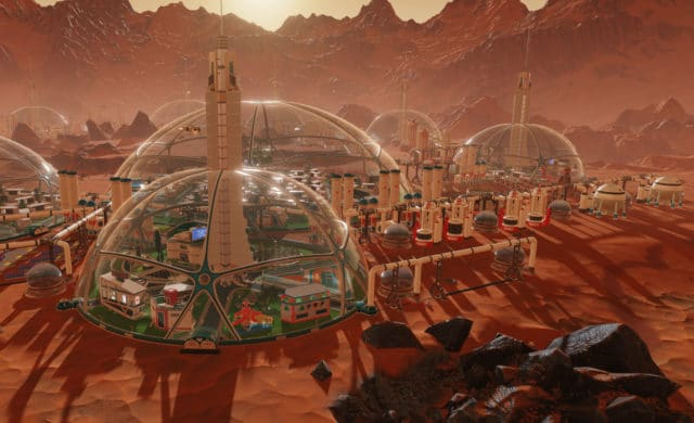 Surviving Mars colonie