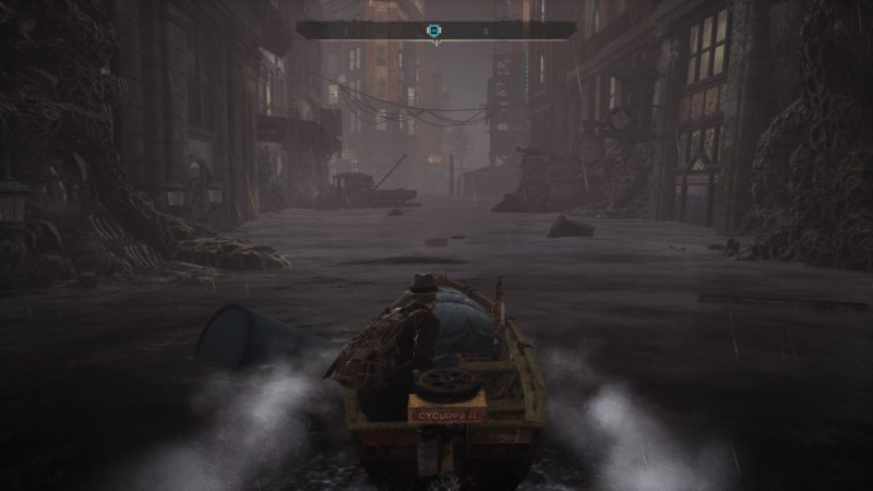 The Sinking City bateau