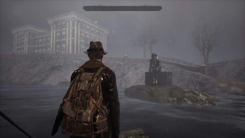 The Sinking City statue 2