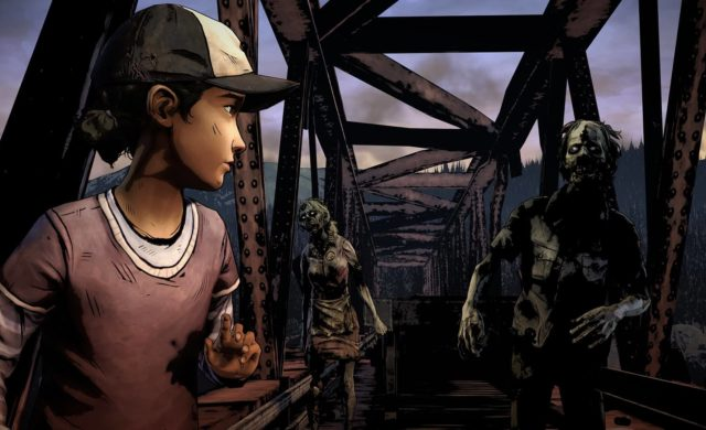 the walking dead telltale definitive series ps4 xbox one wallpaper clémentine