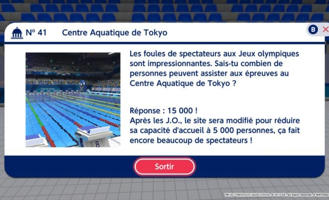Mario & Sonic aux Jeux Olympiques Tokyo 2020 - Anecdotes