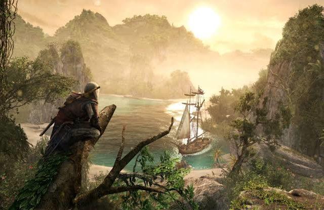 Assassin's Creed: The Rebel Collection - Vue sur la crique