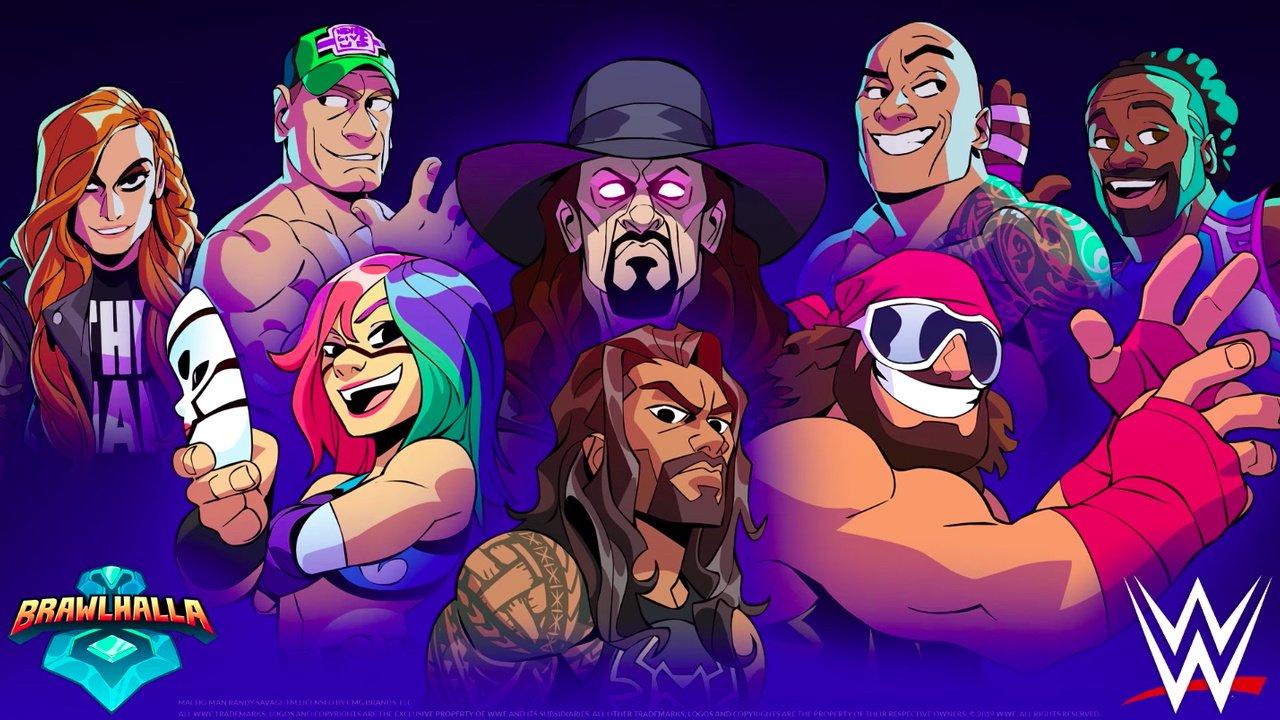Brawlhalla WWE