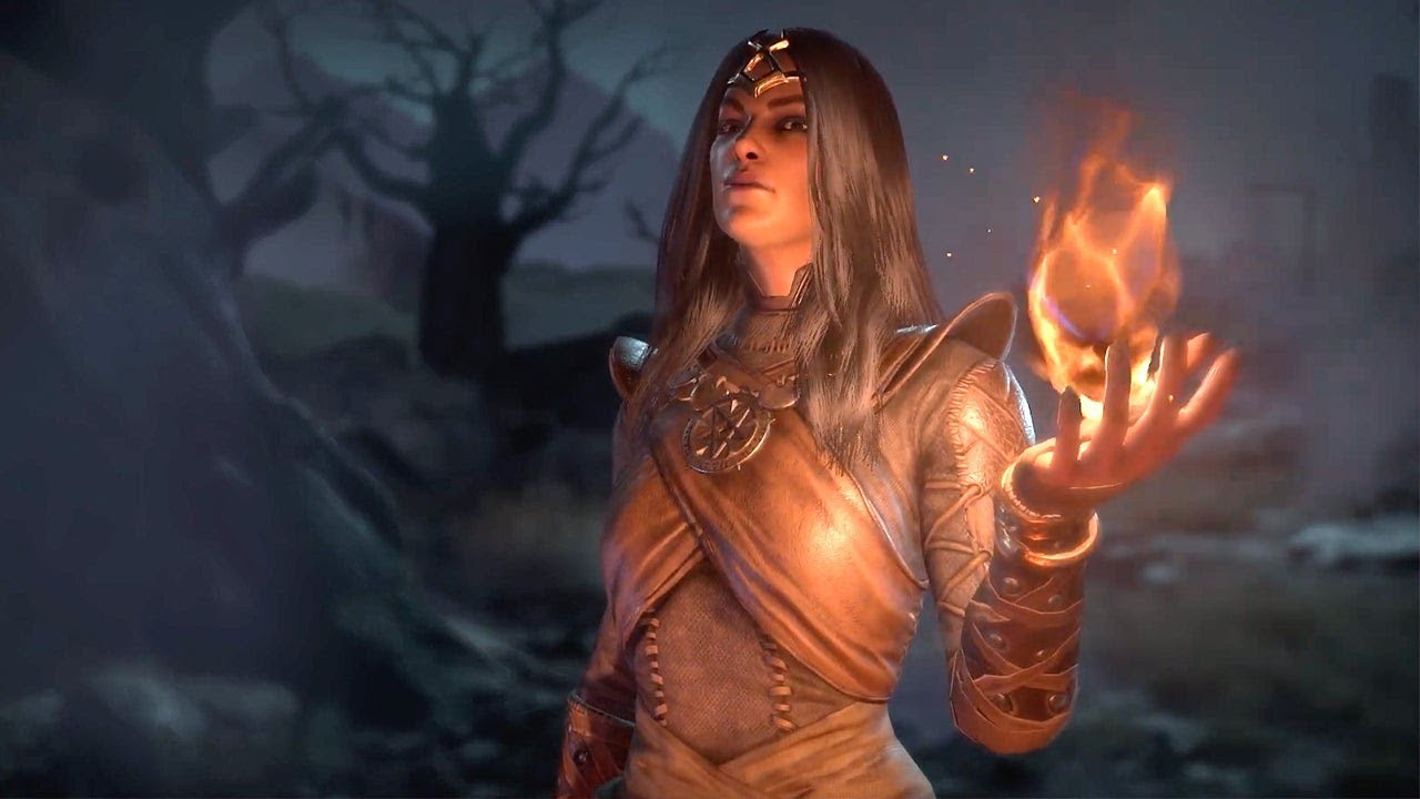 Diablo IV - Classe de la Sorcière