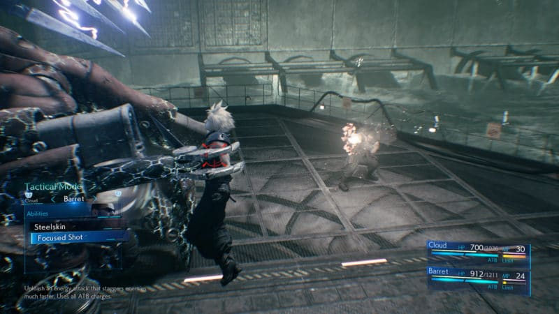 Final Fantasy VII Remake clou chope
