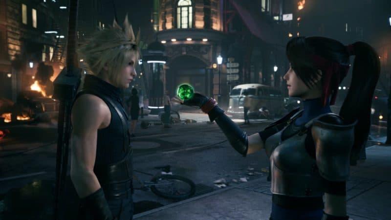 Final Fantasy VII Remake Cloud et Jessie