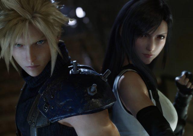 Final Fantasy VII Remake Cloud et Tifa