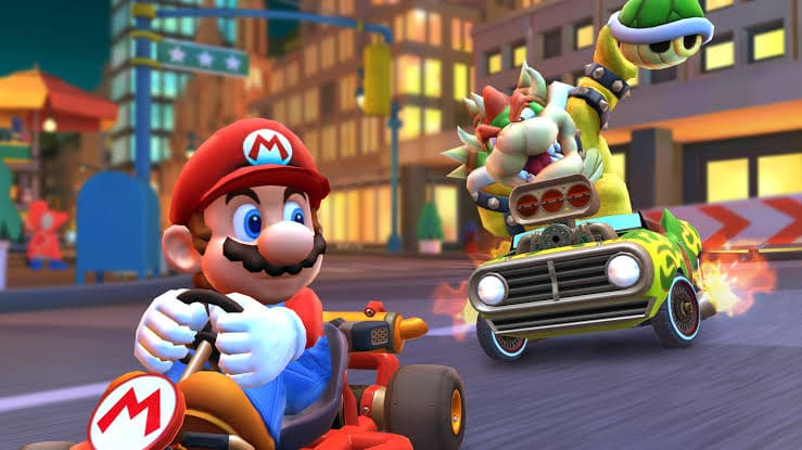 Mario Kart Tour - Combat de rue