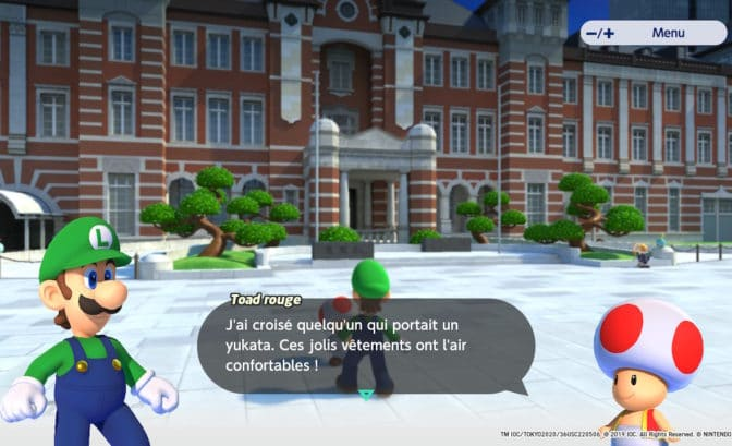 Mario & Sonic aux Jeux Olympiques Tokyo 2020 - Toad OSEF