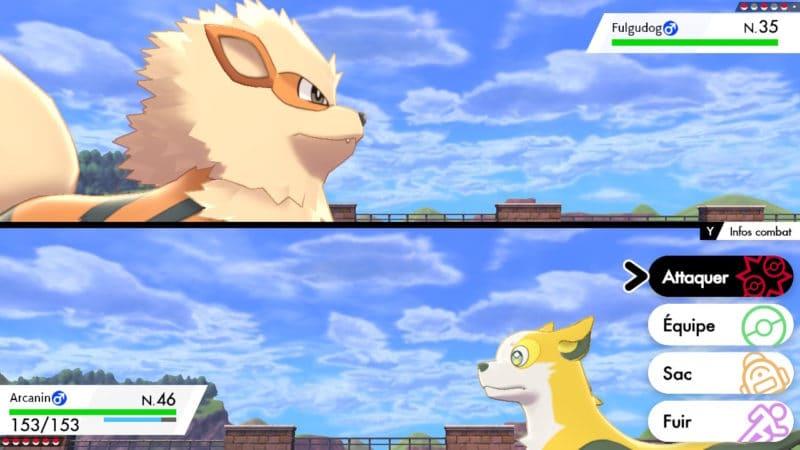 Pokémon Épée et Bouclier - Dogfight
