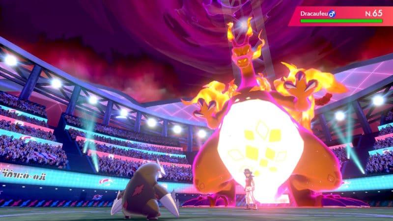 Pokémon Épée et Bouclier - Dracaufeu Dynamax