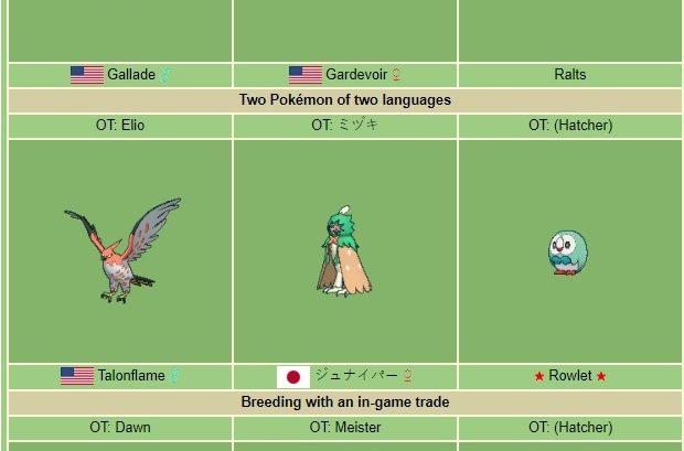 Pokémon - Méthode Masuda