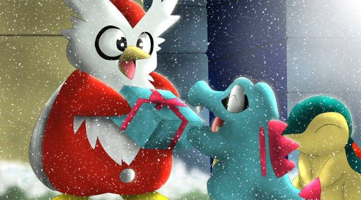 Pokémon Masters - Cadoizo et Noël