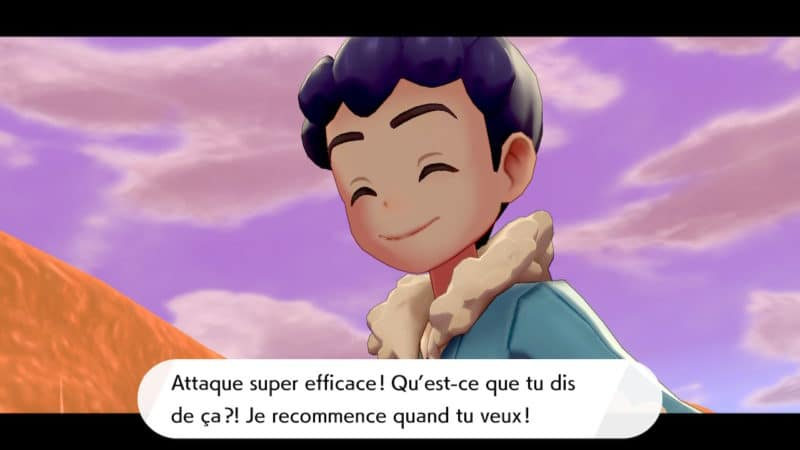Pokémon Épée et Bouclier - Rival bavard
