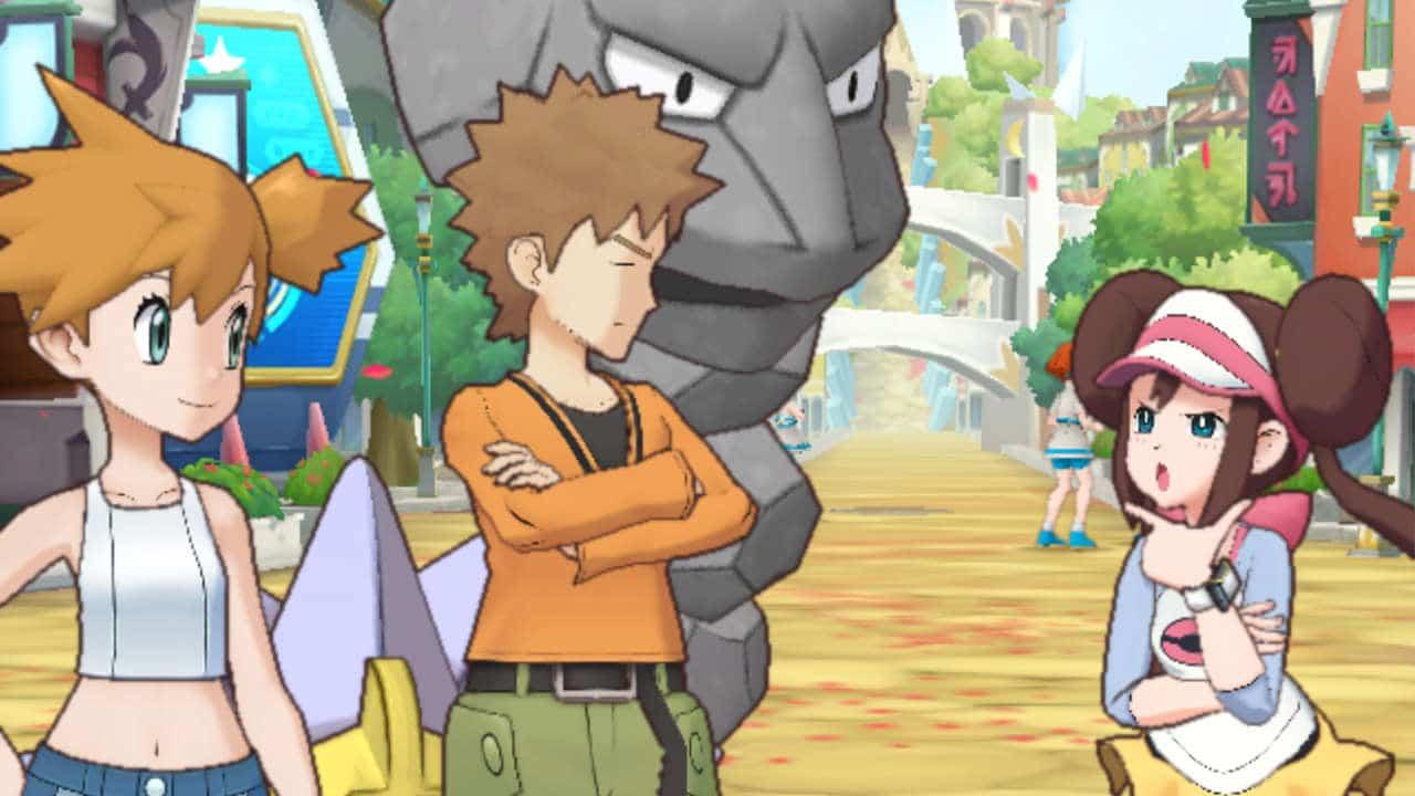 Pokémon Masters dresseurs