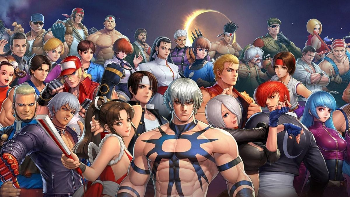 The King of Fighters ALLSTAR personnages