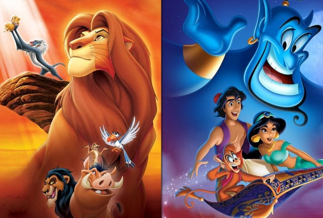 aladdin et le roi lion remastered sur nintendo switch