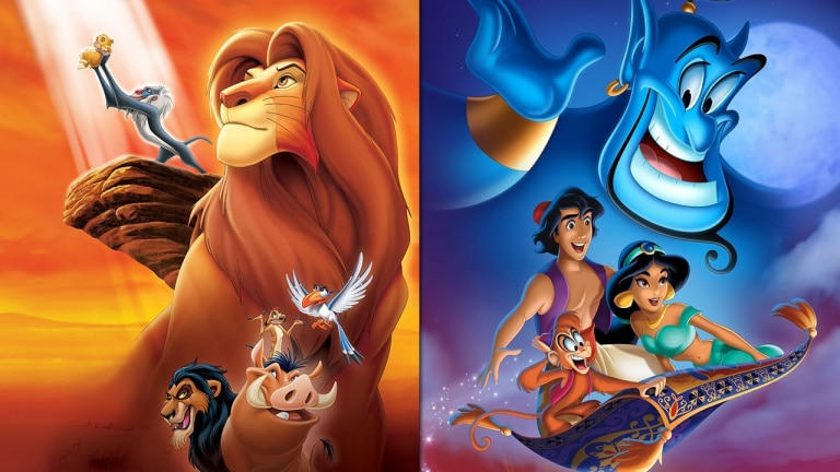 aladdin et le roi lion remastered sur nintendo switch