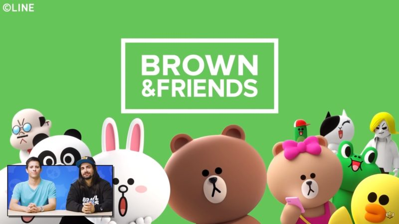 brown friends apparait dans brawl stars