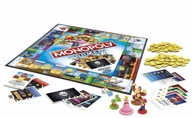 Monopoly Gamer Plateau idée Noël