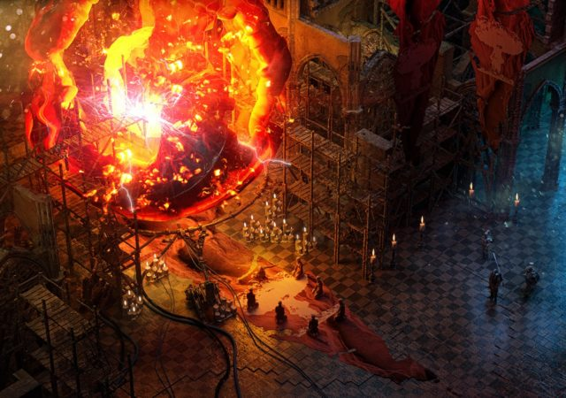 Wasteland 3 feu