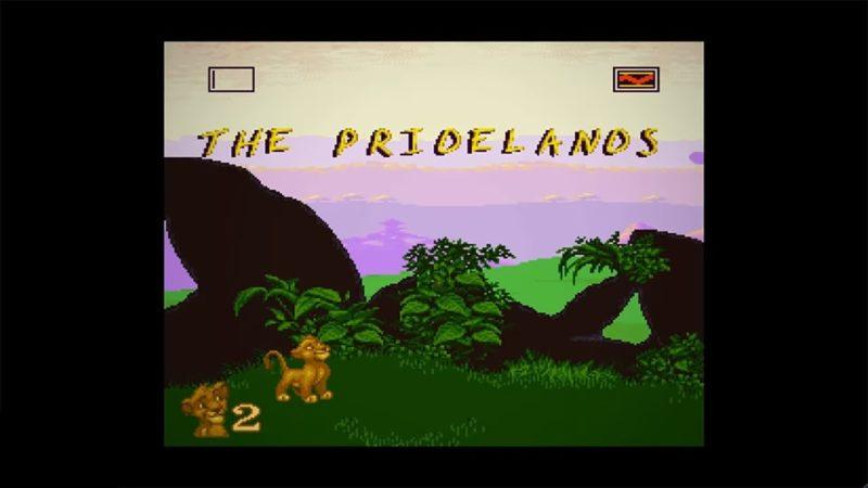 le roi lion premier stage sur nintendo switch