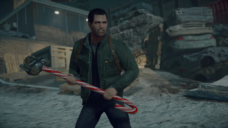 Dead Rising 4 arme noel candy cane