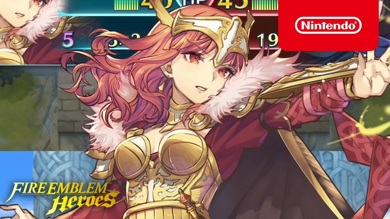 Fire Emblem Heroes - Celica